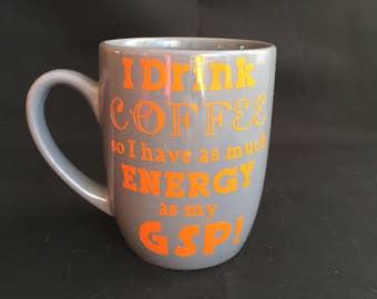 German Shorthaired Pointee Coffee Mug