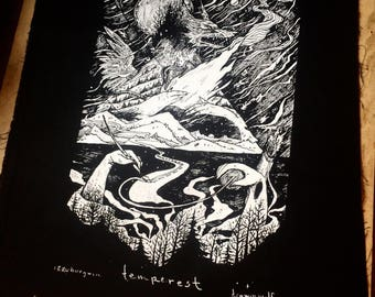 Temperest Giant Backpatch