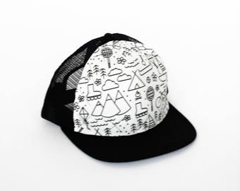 Toddler Kids Adult Trucker Hat - Ready for Adventure