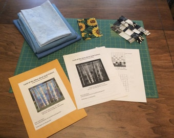 Quilt Pattern, .pdf version, Land of the Silver Birch Quilt