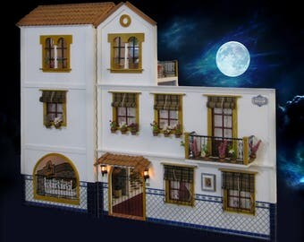 Andalusian doll house scale 1:12