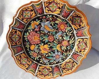 Large dish The magic S.Stefano c diameter 40 cm