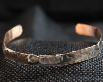 Reticulated Copper Bracelet (041917-019)