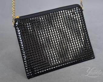 Black evening bag   Black handbag   Elegant handbag   crossbody bag   shoulder bag   Crossbody purse   cross body bag   Small cross body bag