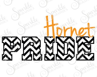 Hornet Pride Cut File Tiger svg Hornet Mascot Mascot svg  Graduation SVG Clipart Svg Dxf Eps Png Silhouette Cricut Cut File Commercial Use