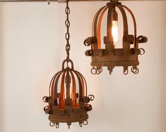 Medieval Style Iron Lanterns