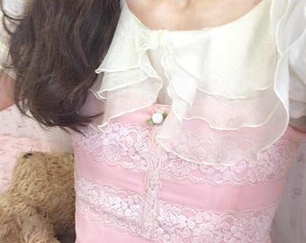 Baby pink camisole