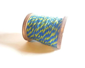 Blue and Yellow Baker's Twine