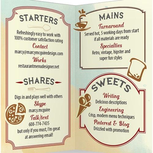 Ungewöhnlich Beispiele Für Catering Menüvorlagen Ideen - Beispiel ...