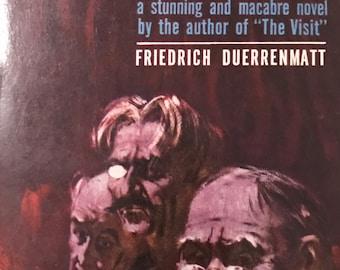 VTG Book Traps Friedrich Duerrenmatt Ballantine Paperback 1960