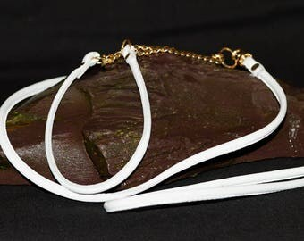 Hand Made Show Lead - Soft and Luxurious Nappa Leather