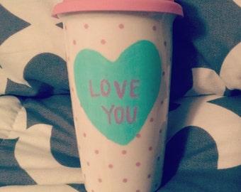 Valentine/Conversation Heart Mug