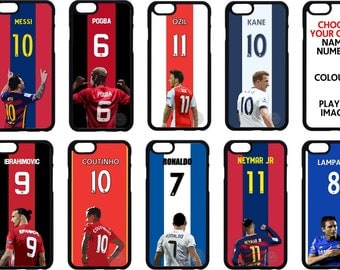 Soccer / Football Top Players iPhone Cover / Case - All models - Silicone & Plastic