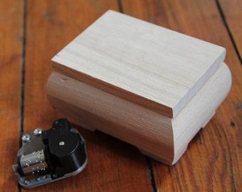 Wooden music box, personalized gift, Chihiro, Laputa, love story, Frozen, Swan lake, melody, film theme, musical movement