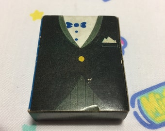 80's Vintage Citation Japan Tuxedo Eraser