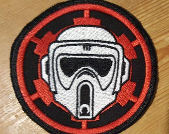 Star Wars Biker Scout Embroidered Patch