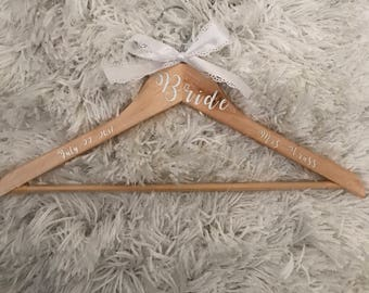 Bride Wedding Dress Hanger