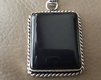 Black Onyx Pendant!