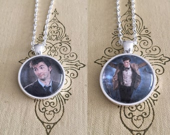 Doctor Who 10th and 11th Doctor Necklaces
