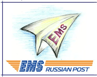 Express delivery EMS Russian Post.