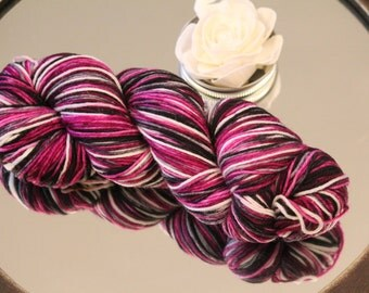 Katie 100% Merino Wool Sport Weight Yarn Hand Dyed 400 Yards 4 Ounces