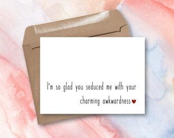 Greeting Card - Charming Awkwardness