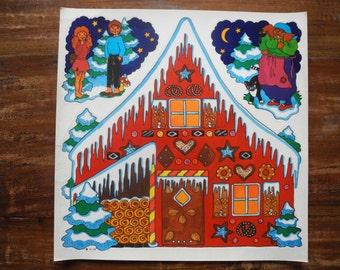 Hans and Gretel Window stickers