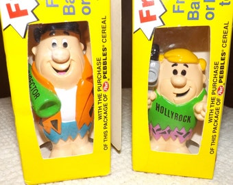 Collectible Fred and Barney bendable toy
