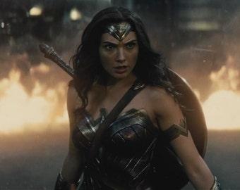 FREE SHIPPING Wonder Woman Gal Gadot movie poster 11x17