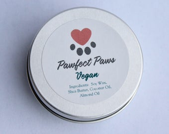 PawFect Paws- Vegan! No animal products or byproducts, for dry paws, noses and elbows. FREE SHIPPING
