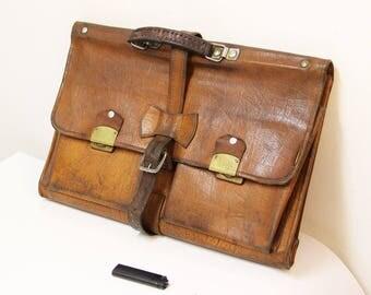 Soviet Vintage Briefcase Laptop Case Retro Briefcase Vintage Attache Case Vintage Business Case Vintage Case Old Briefcase