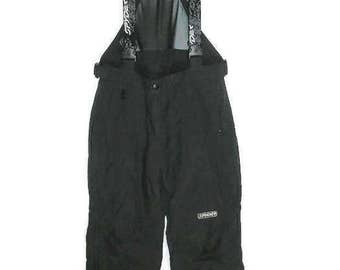 Spyder Snowboard Pants Black Bib Ski Pant Thinsulate Insulation Black Powder Pants Black Snowboard Pant Pre Owned Snowboard Pants Men's Sz L