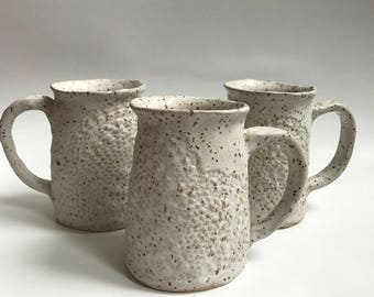 Lace Stoneware Mug
