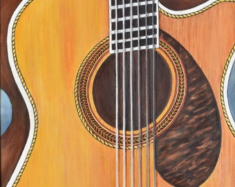 Gibson Guitar card/print