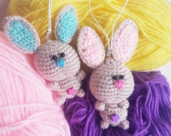 gift for mom bag charm easter gift easter bunny easter decorations cute bunny stuffed rabbit happy - Easter Decorations