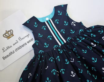 girls nautical party dress