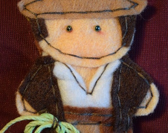 Indiana Jones Zipper Charm