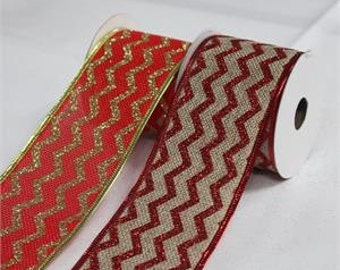 Christmas Wire Ribbon
