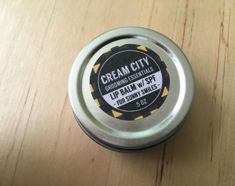 Citrus Lip Balm with SPF | by Cream City Grooming Essentials
