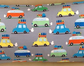 Little darling cotton camper van cushion cover