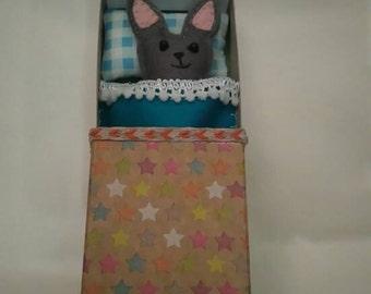 Mini pet in a box