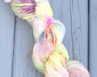 Sky Color - hand dyed yarn