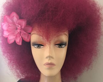 Queen of hearts wig, dress up wig, Drag Queen Wig, Wigs, Wig, Ombre Wigs, Red Hair