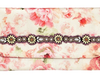 Being In Bloom Envelope Clutch