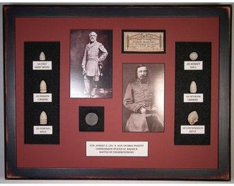 Lee and Pickett – Original Civil War Artifacts