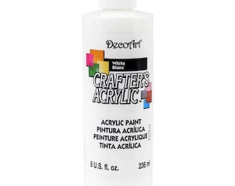 Crafter's Acrylic All-Purpose Paint 8oz white
