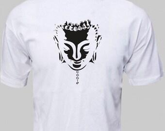 BUDDHA T-shirt ENSO ZEN, Meditation, Buddhism budha face tshirt