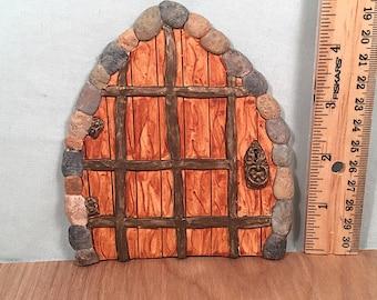 Wrought Iron Gnome Door
