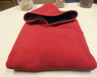 Red Hooded Sweater(pullover)