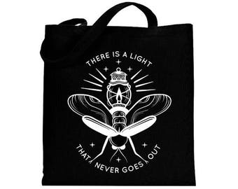 Firefly - The smiths-inspired - canvas tote bag